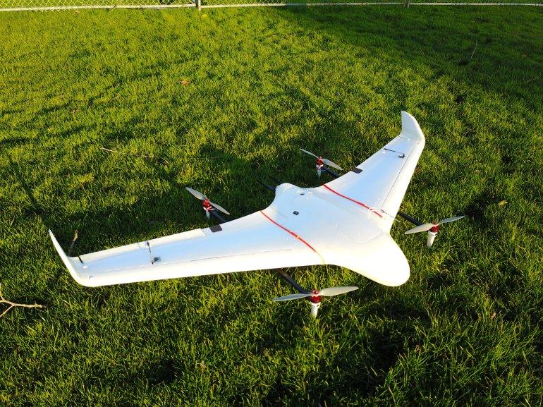 Hybrid UAV created by Jed Kohnen